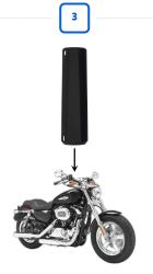 バイク盗難防止システム